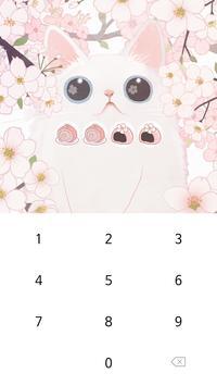 카카오톡 테마 - 보들캣 벚꽃구경 screenshot 4