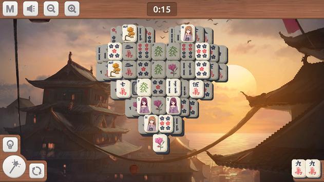 Mahjong Sakura screenshot 4