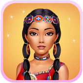 Dress up Princess Pocahontas icon