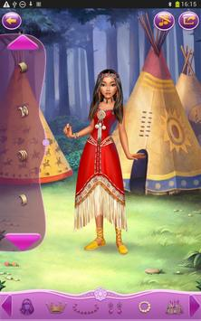 Dress up Princess Pocahontas screenshot 14