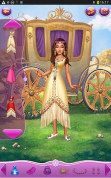 Dress up Princess Pocahontas screenshot 2