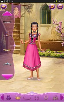 Dress up Princess Pocahontas screenshot 7