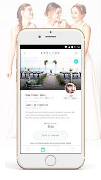 Exclusy - Eventos y Moda apk screenshot