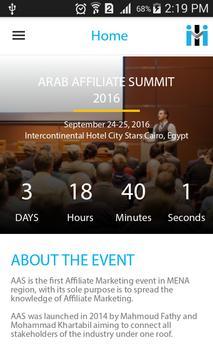 Arab Affiliate Summit screenshot 2