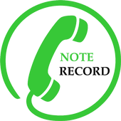 Note Call Recorder,  Call Recording أيقونة