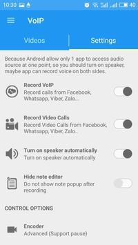 Note Call Recorder,  Call Recording تصوير الشاشة 3