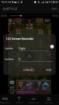 123 Screen Recorder, Messenger Video Call Recorder apk screenshot
