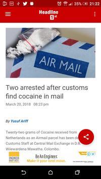 Headline 1st screenshot 2