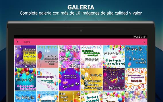 Feliz Cumpleaños Hija - Imagenes con frases apk screenshot