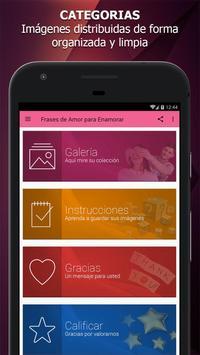 Frases de Amor para Enamorar apk screenshot