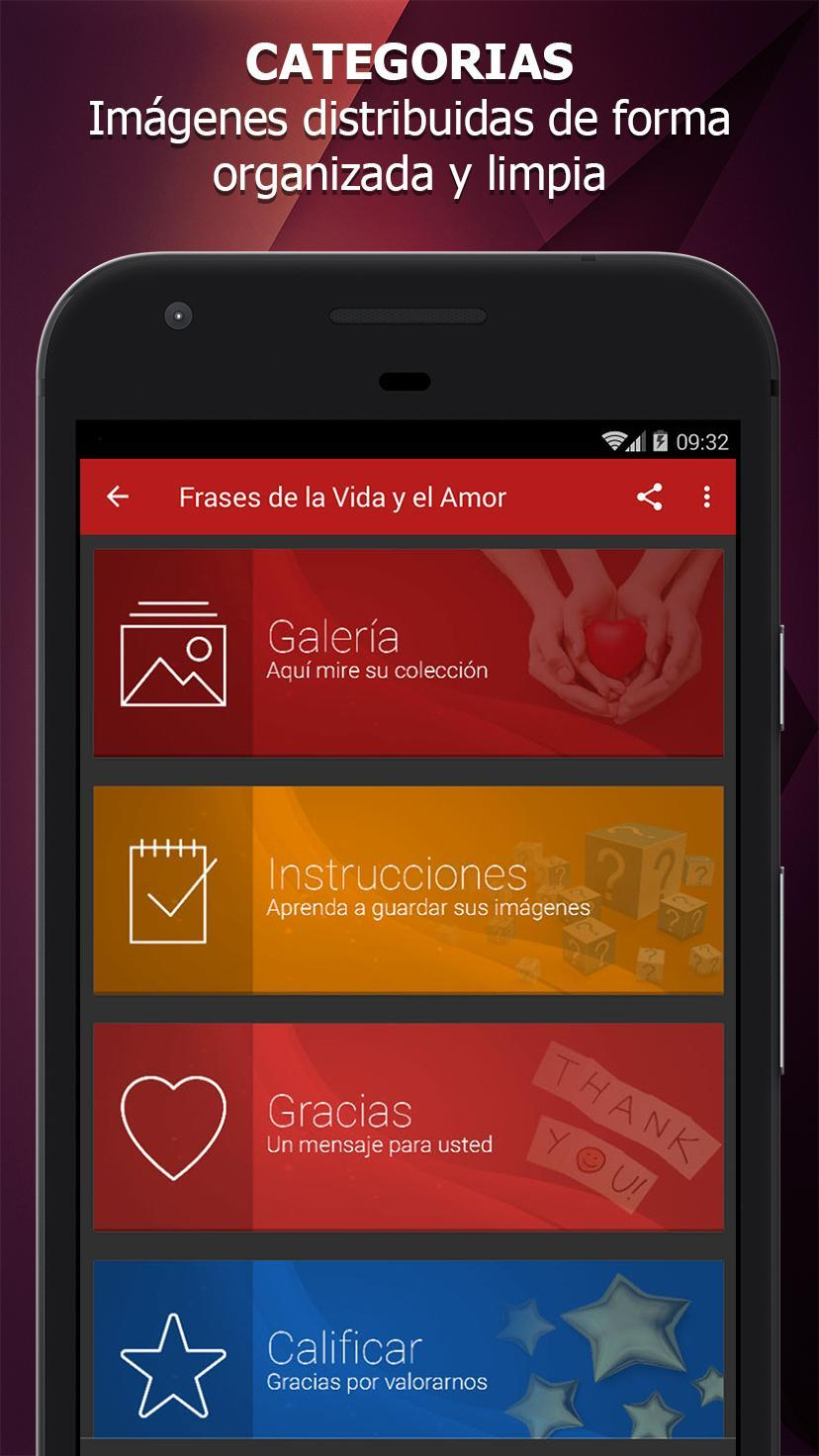 Frases De La Vida Y El Amor для андроид скачать Apk