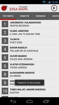 Radio Buba Mara 105.2 FM screenshot 1