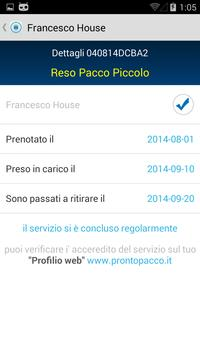 ProntoPacco apk screenshot