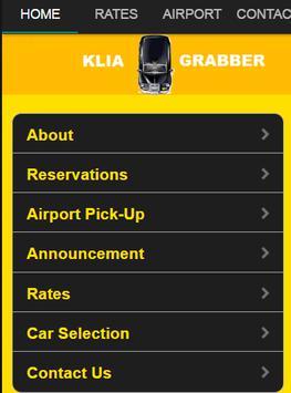 KLIA Taxi Car Grab KualaLumpur poster