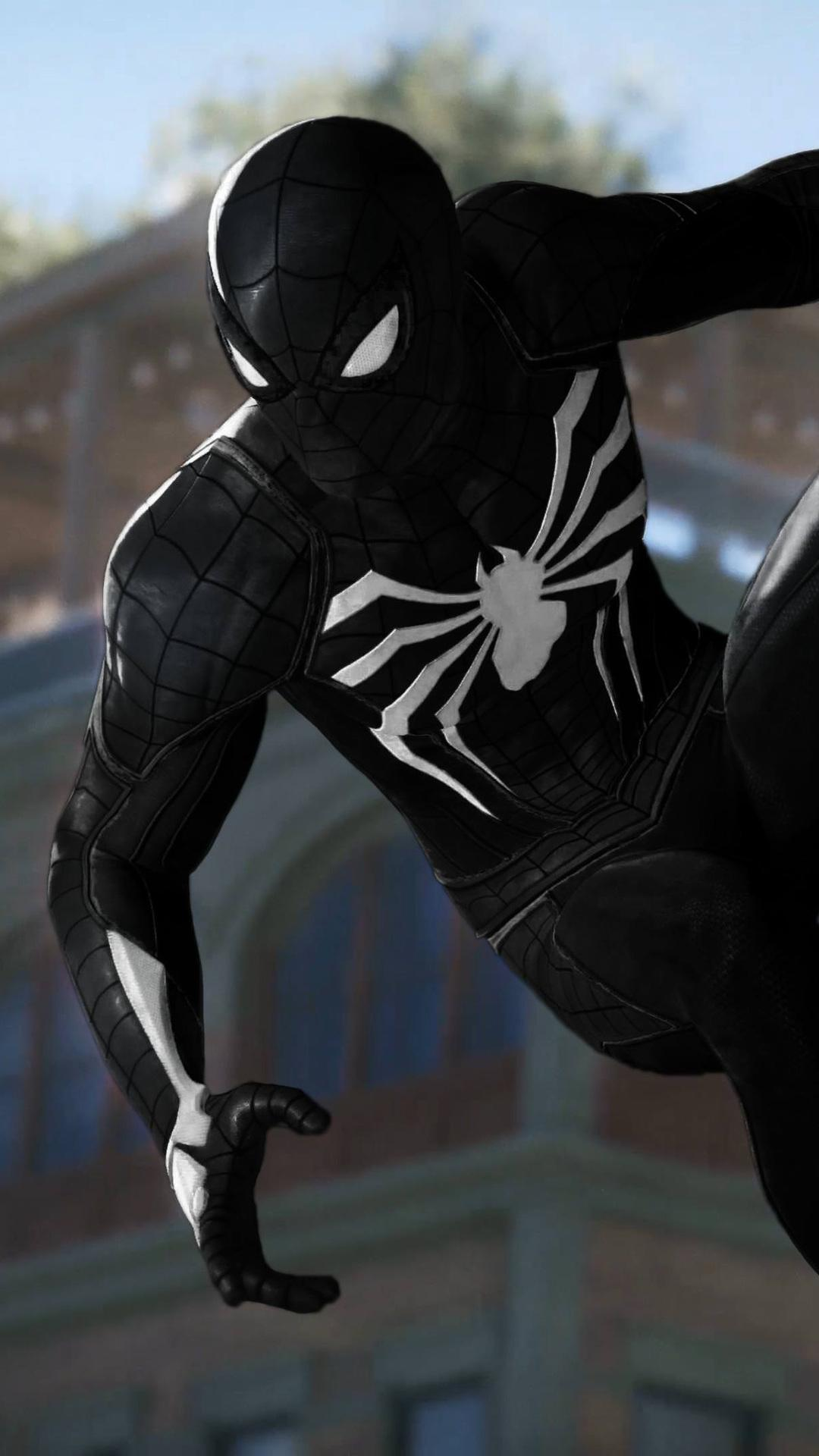 Black Spider Man Hd Wallpapers For Android Apk Download
