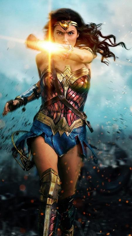 Wonder Woman HD Wallpapers Poster
