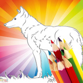 Animal Coloring For Children : Wolf Edition icon