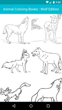 Animal Coloring For Children : Wolf Edition apk screenshot