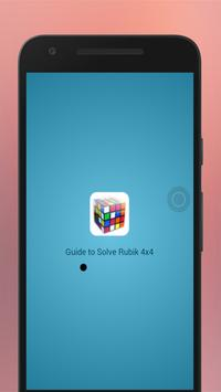 Best Guide to Solve Rubik 4x4 poster
