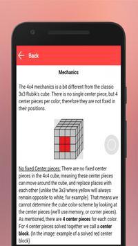 Best Guide to Solve Rubik 4x4 apk screenshot