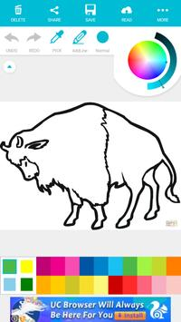 Animal Coloring For Kids : Bull with Camel Edition screenshot 2