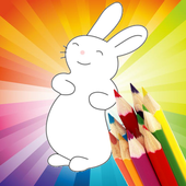 Animal Coloring For Children : Cute Rabbit Edition icon