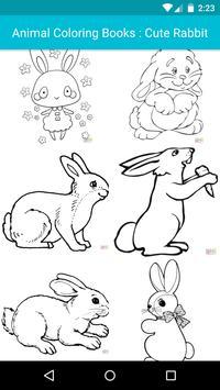 Animal Coloring For Children : Cute Rabbit Edition screenshot 1