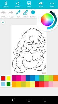 Animal Coloring For Children : Cute Rabbit Edition apk screenshot