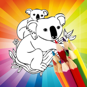 Animal Coloring For Children : Koala Edition icon