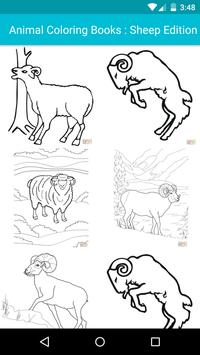 Animal Coloring For Children : Sheep Edition poster
