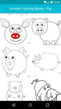 Animal Coloring For Children : Pig Edition apk screenshot