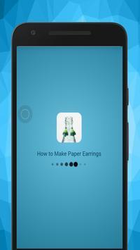 Make Quilling Paper Earrings screenshot 1