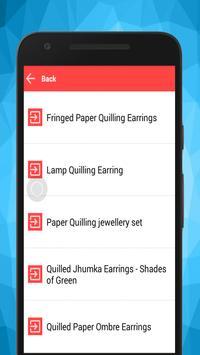 Make Quilling Paper Earrings screenshot 2