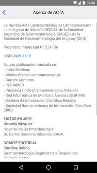 Acta Gastroenterol Latinoam. screenshot 3