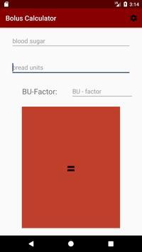 Bolus Calculator poster