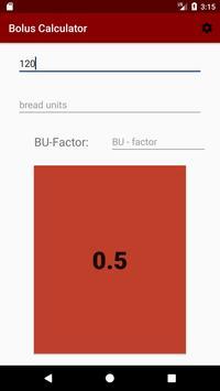 Bolus Calculator screenshot 2