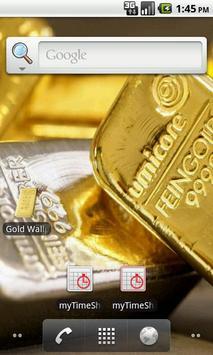 Gold bar Wallpaper screenshot 1