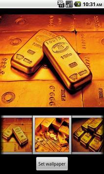Gold bar Wallpaper screenshot 2