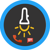 Flash on Call - SMS Ultimate icon
