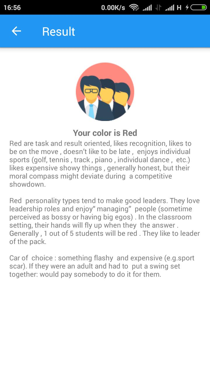 Color Personality Test Teaming For Android Apk Download