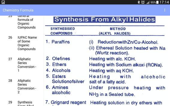 Chemistry formula apk download free education app for android chemistry formula apk screenshot altavistaventures Images