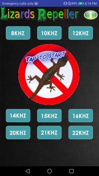 Anti Lizard Prank poster