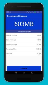 Mobile Speed Booster Lite screenshot 1
