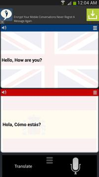 Translator English Spanish poster