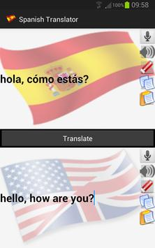 Spanish Translator apk screenshot