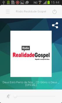 Rádio Realidade Gospel poster