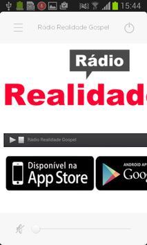 Rádio Realidade Gospel screenshot 1