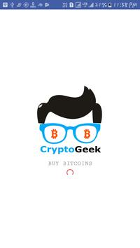 CryptoGeek - Buy Bitcoins poster