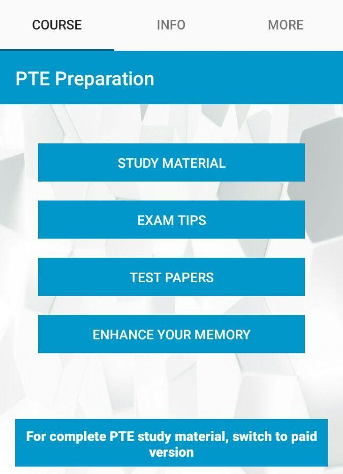 PTE Prep for Android - APK Download