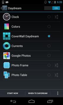 CoverWall Daydream apk screenshot